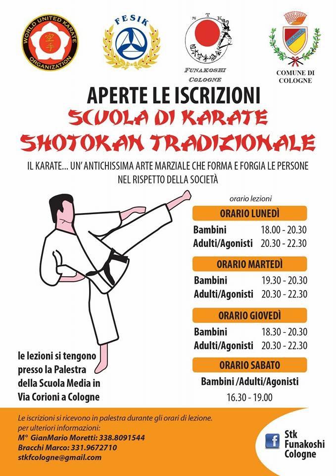 Scuola di karate cologne rete bibliotecaria bresciana e for Biblioteca cologne