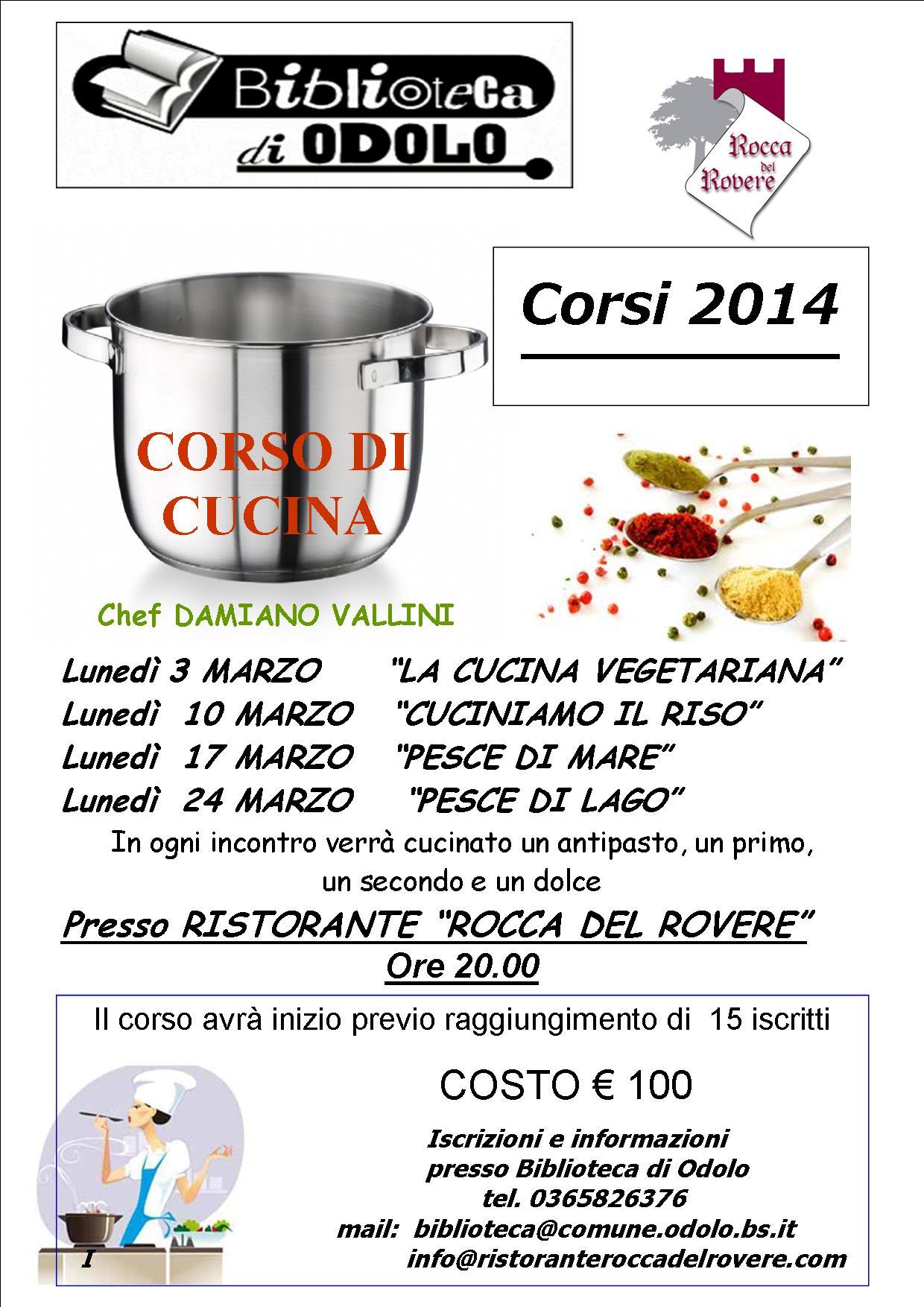 Corso cucina rete bibliotecaria bresciana e cremonese - Corso di cucina potenza ...