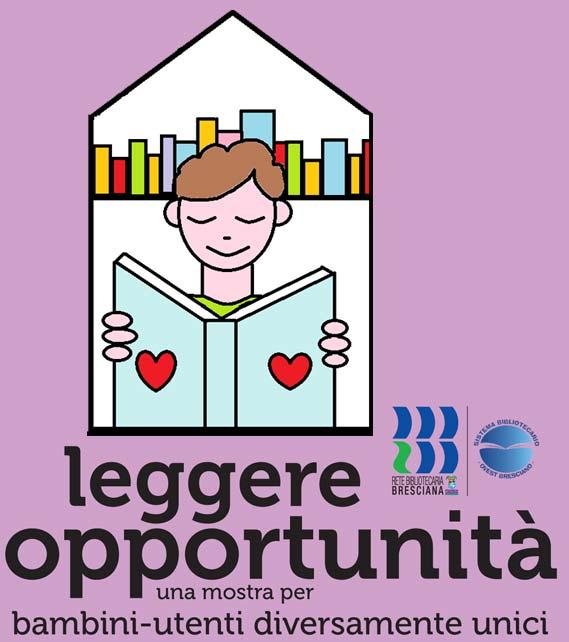 Logo Leggere Opportunità bambino che legge